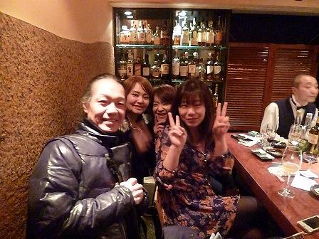 vo三田裕子さんg村山義光氏とお客様とマスター
