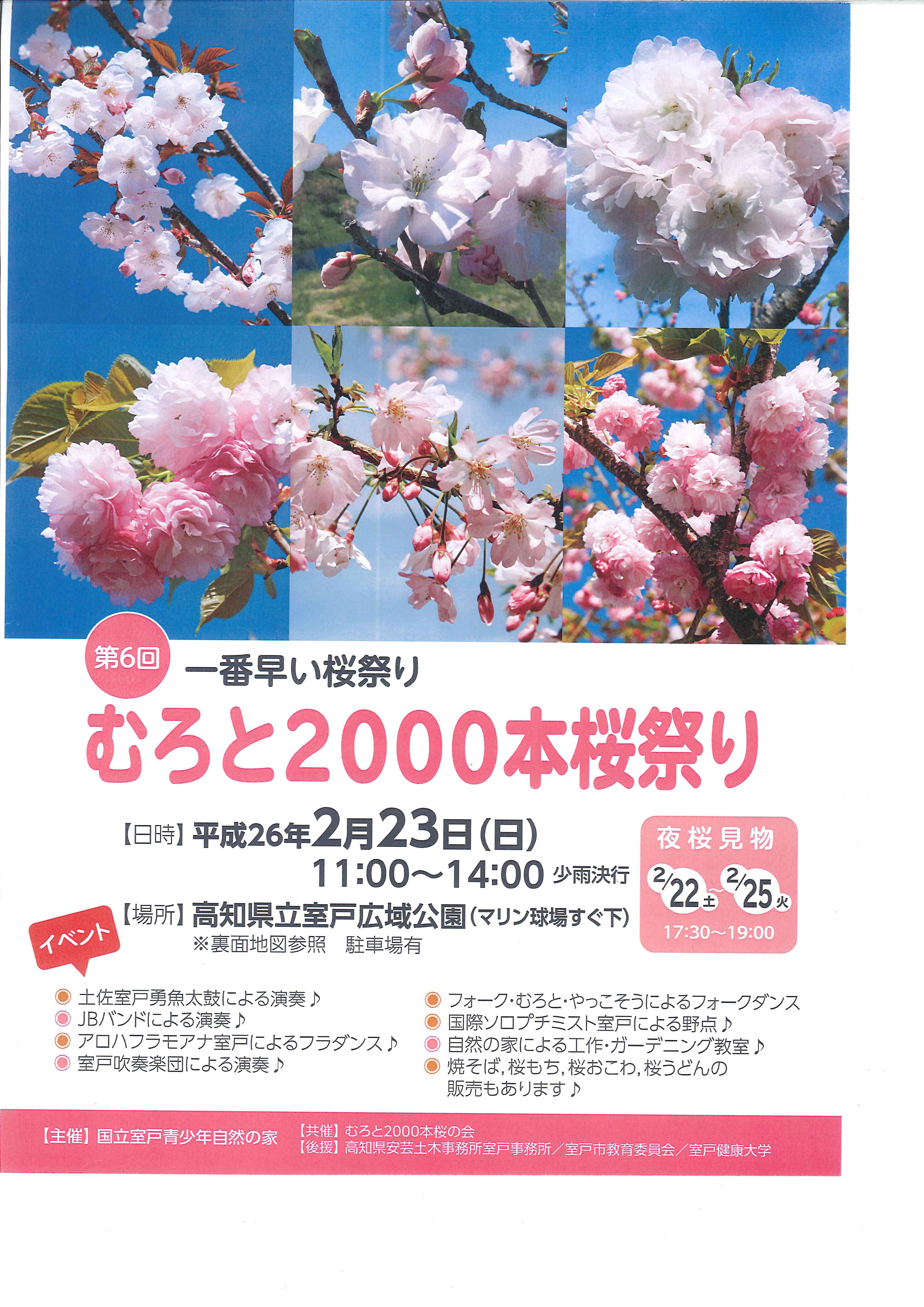 桜パンフレット