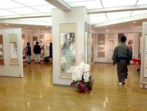 洛陽中国書法水墨画院会員展 1