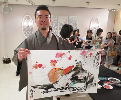 洛陽中国書法水墨画院展 祝賀会8