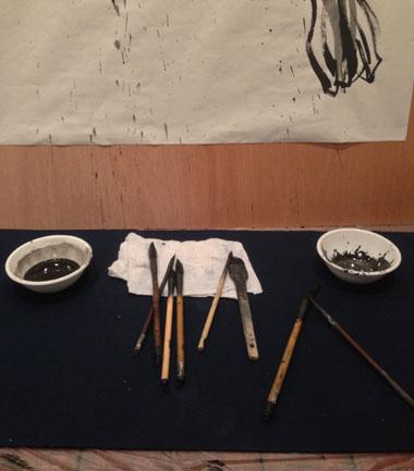 茂本ヒデキチ・個展2