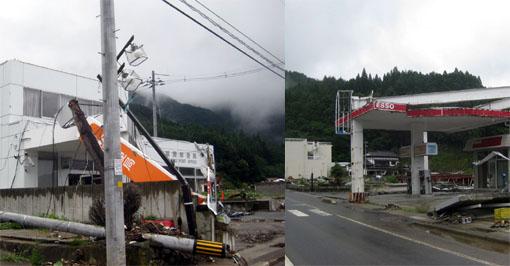 2008年8月 石巻市雄勝町の町並み4