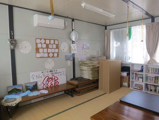 2012年 雄勝町 ボランティア活動 水浜仮設にて2