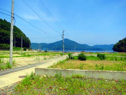 2012年 雄勝町 水浜周辺の風景
