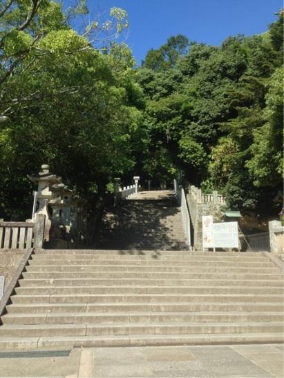 金刀比羅宮 本宮への石段