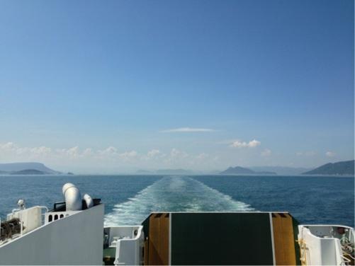 高松港〜小豆島/土庄港へ フェリー