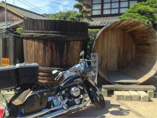 小豆島/ヤマロク醤油さん入口