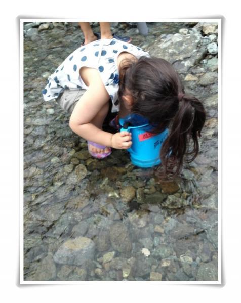 川遊び体験