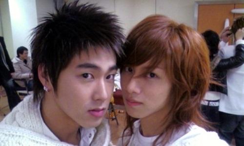 ヒチョルとユノ