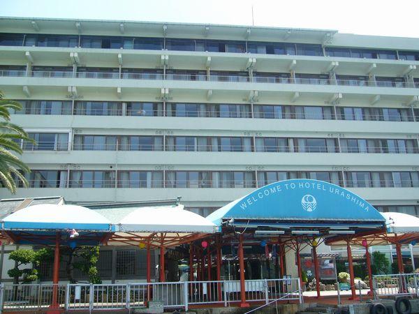 ホテル浦島外観2