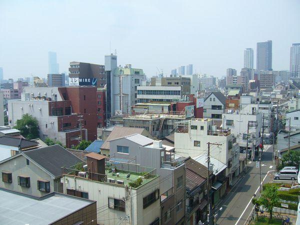 上本町方面