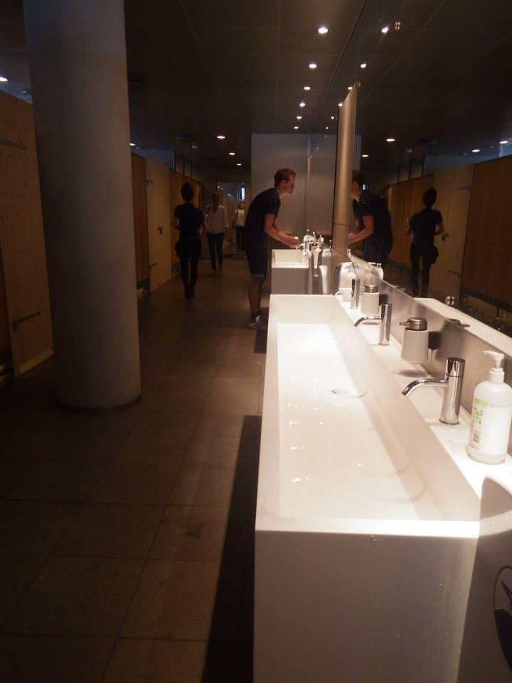 デンマーク王立図書館トイレ