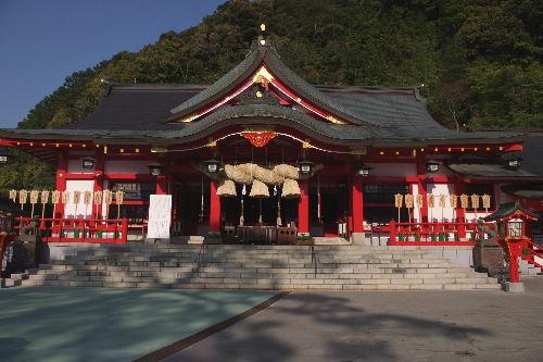 赤い!太鼓谷稲成神社3