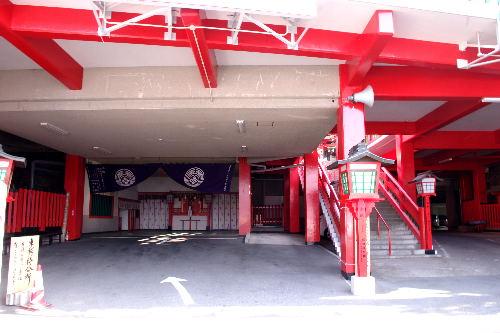 赤い!太鼓谷稲成神社9