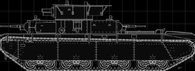 女子高生=五十六=大和 USSR T-35 多砲塔重戦車