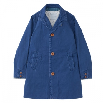 MIES COAT-BLUE