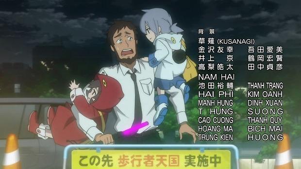 夜桜四重奏 13話37