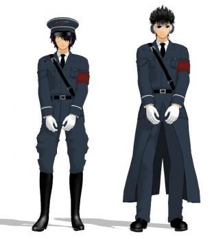 軍服モデル