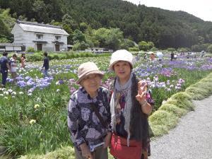 可睡ゆりの園&加茂花菖蒲園1