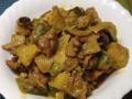 ラムと茄子カレー炒め煮
