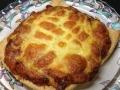 明太ネギ納豆の揚げピザ