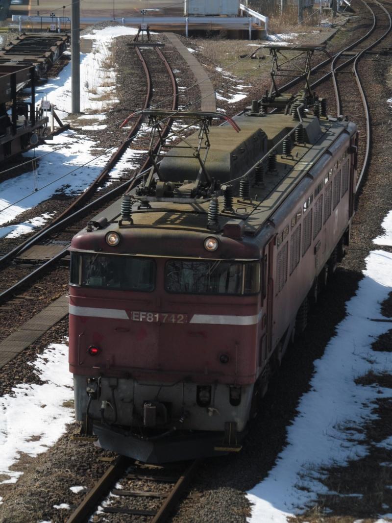 石川台の鉄活動日記-EF81 742