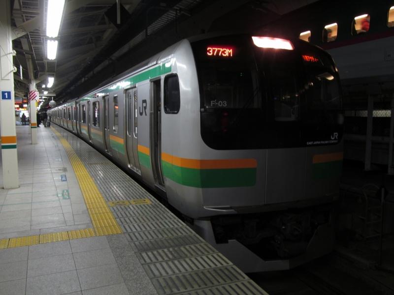 石川台の鉄活動日記-E217 f03