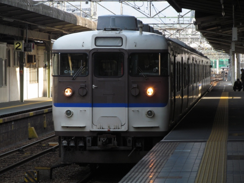 石川台の鉄活動日記-クハ115-608