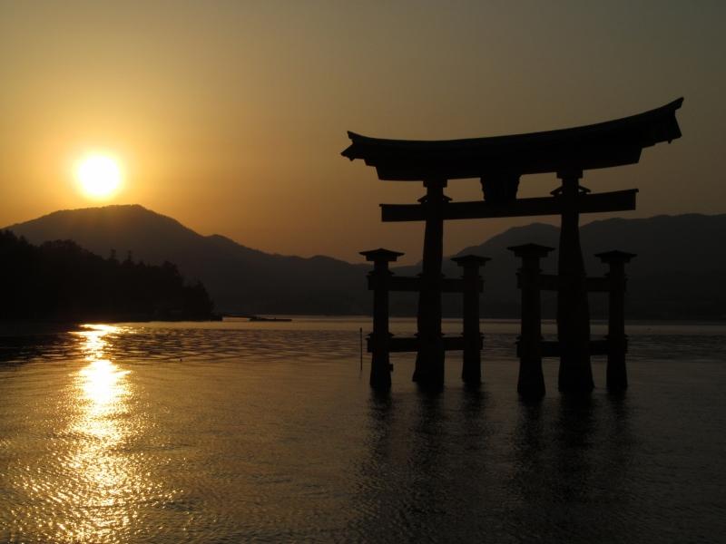 石川台の鉄活動日記-鳥居の夕焼け