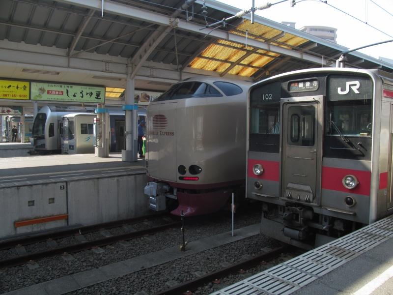 石川台の鉄活動日記-四国並び