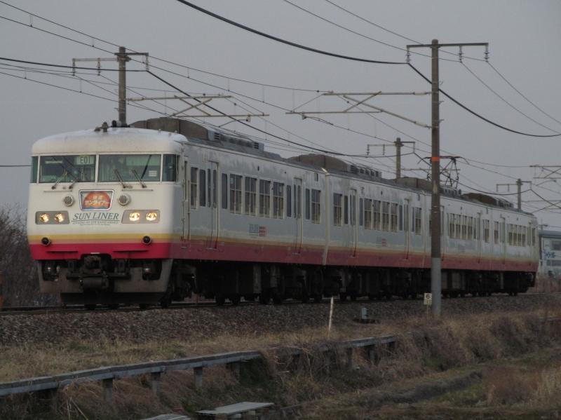 石川台の鉄活動日記-117サンライナー