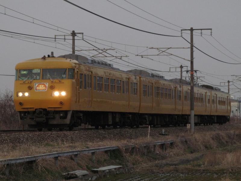 石川台の鉄活動日記-117末期色