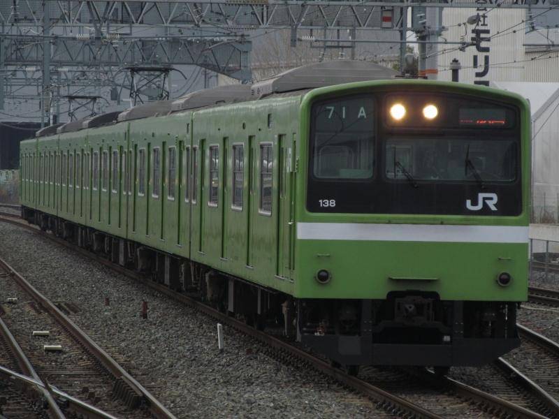 石川台の鉄活動日記-201大和路線
