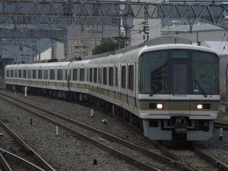 石川台の鉄活動日記-221大和路線