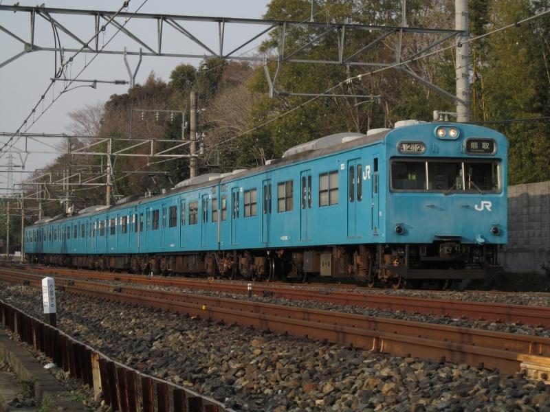 石川台の鉄活動日記-103阪和線 1