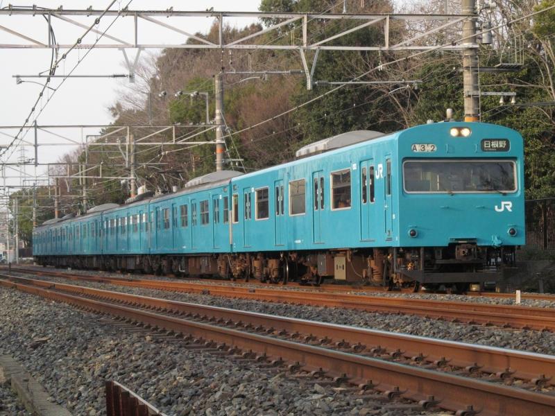石川台の鉄活動日記-103阪和線 2