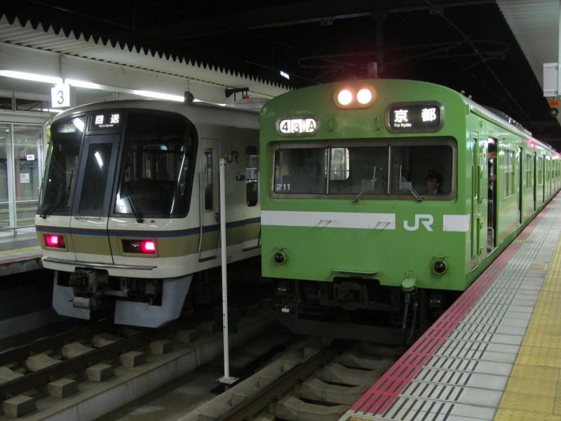 石川台の鉄活動日記-103大和路線&221