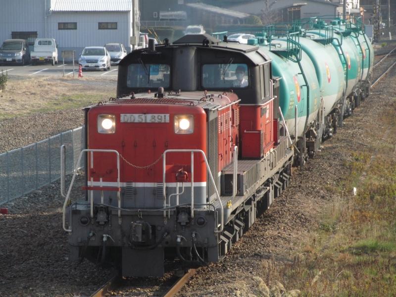 石川台の鉄活動日記-DD51タキ貨物
