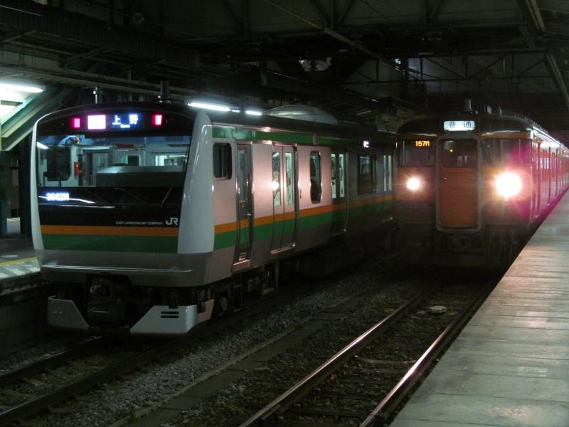 石川台の鉄活動日記-115&E233