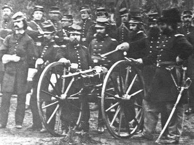南北戦争の兵士たち