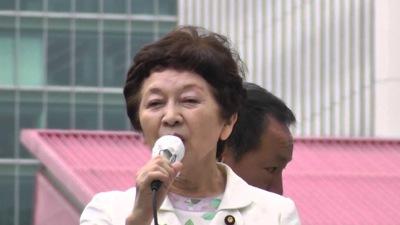 参院選中山恭子先生有楽町駅前街頭演説