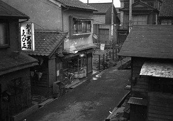 昭和30年代の街並