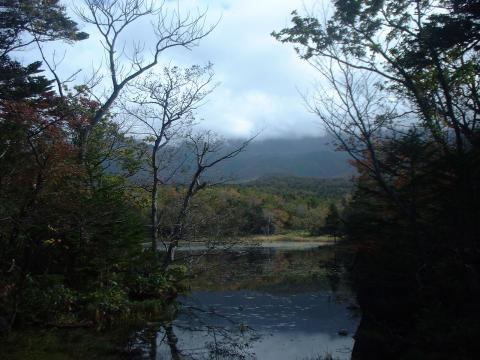 知床五湖の二湖3