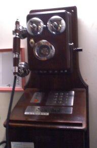 龍言のレトロ電話