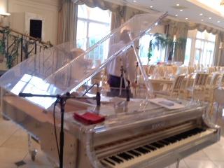 透き通ったピアノ
