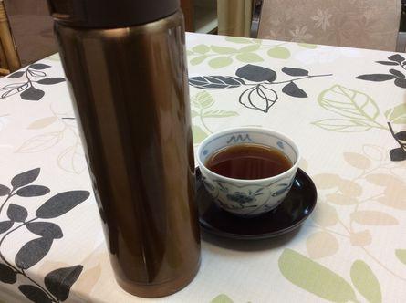 ミントの香りのお茶