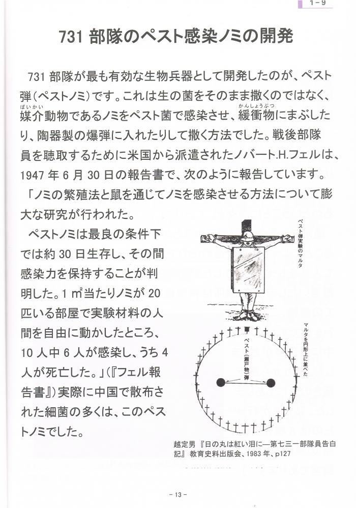 731部隊の感染ノミの開発