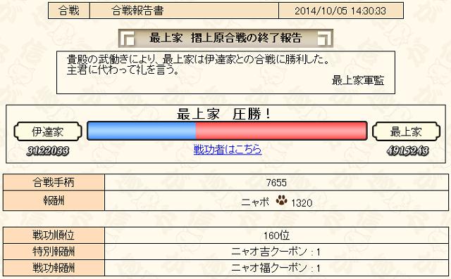 合戦10-報告書