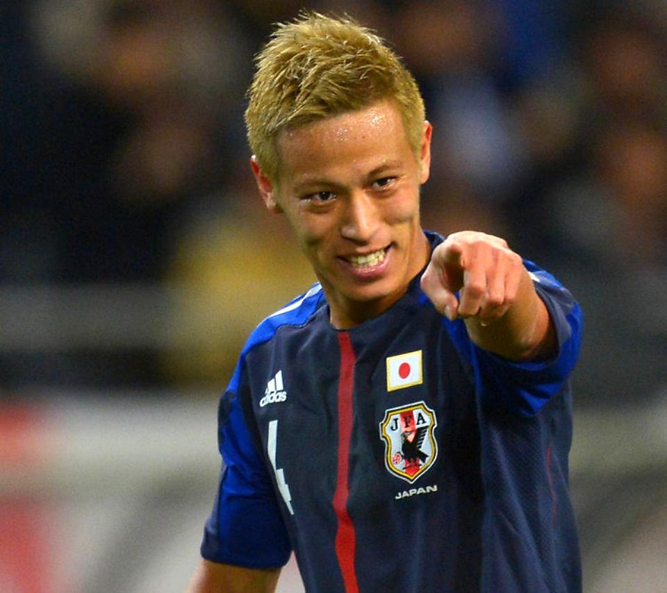 「サッカー本田無料写真」の画像検索結果