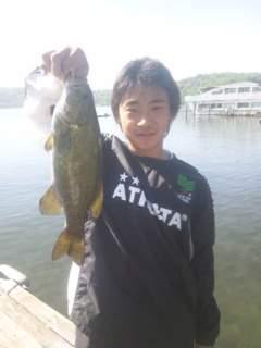 20130531 体験学習 バス釣り